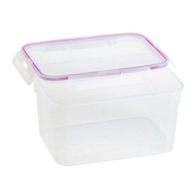 Airtight 10.8-cup Plastic Food Storage Container
