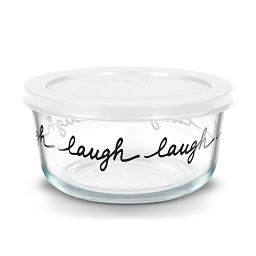 Simply Store 4 Cup Celebrations Laugh Storage Dish
