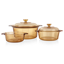 5-piece Dutch Oven Cookware Set with 5-liter Stewpot