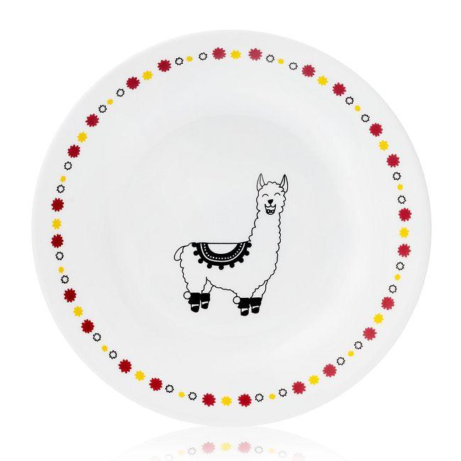 "Falalala Llama Benny 6.75"" Appetizer Plate"