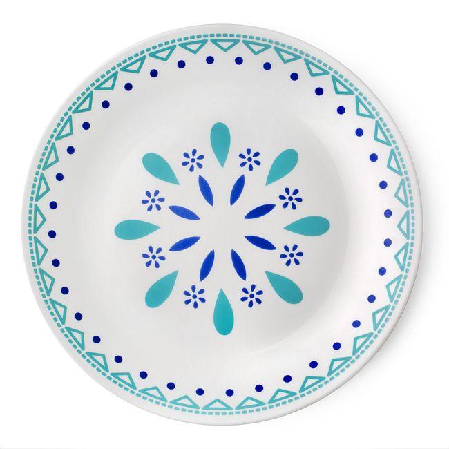 "Livingware Santorini Sky 10.25"" Plate"
