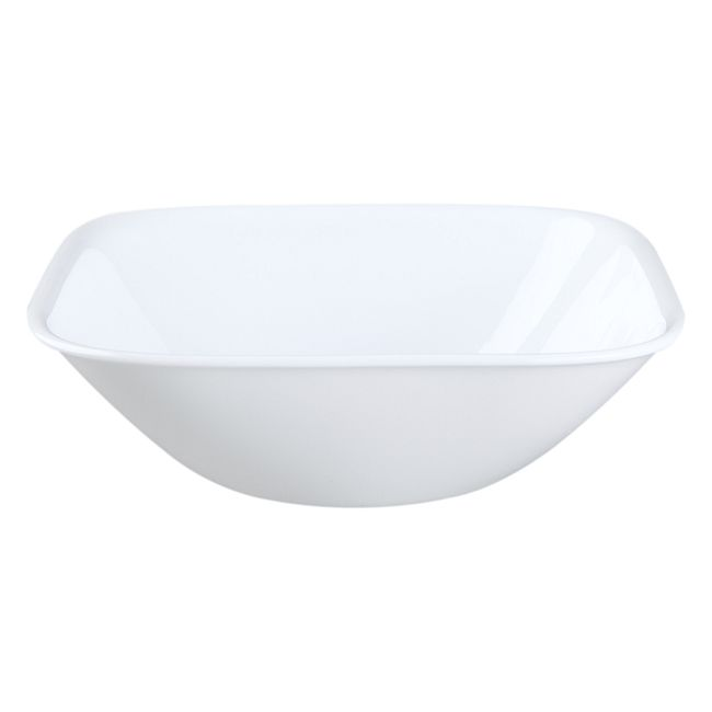 Pure White 1-quart Large Serving Bowl
