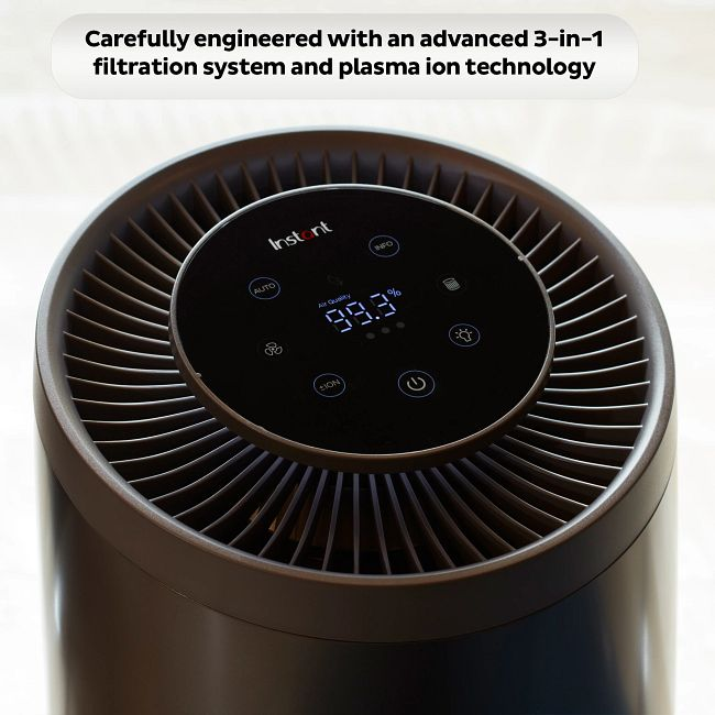 Instant™ Air Purifier, Large, Charcoal