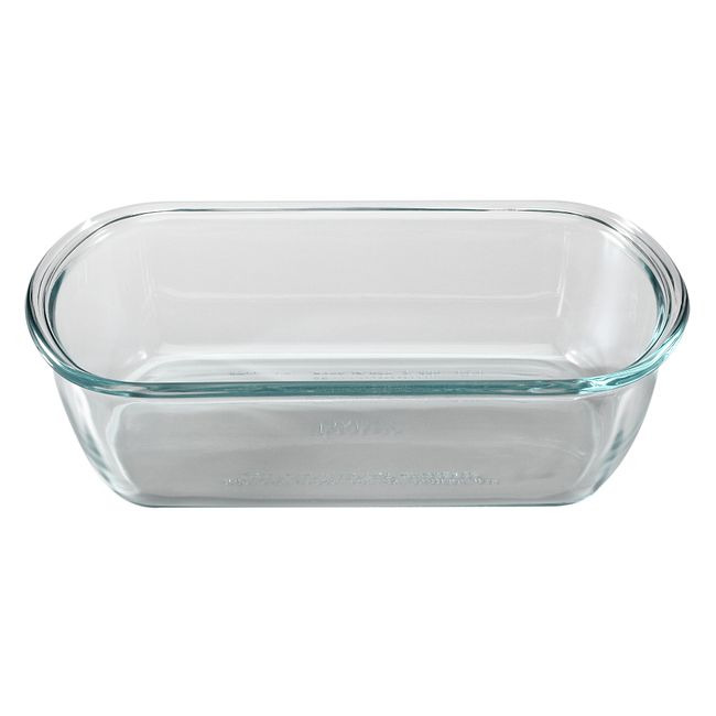 5-cup Rectangular Glass Food Storage Container