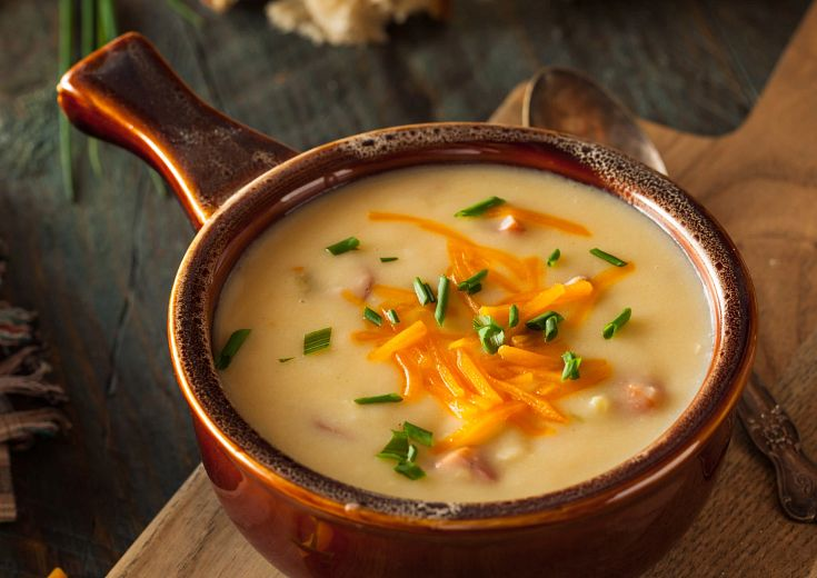 Beer Cheese Soup in Instant Pot