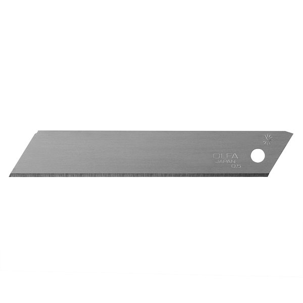 18mm Heavy-Duty Silver Solid Blade (LSOL-10B)