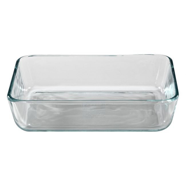 3-cup Rectangular Glass Food Storage Container