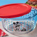 4-cup Decorated Storage: Mickey Mouse - Since 1928