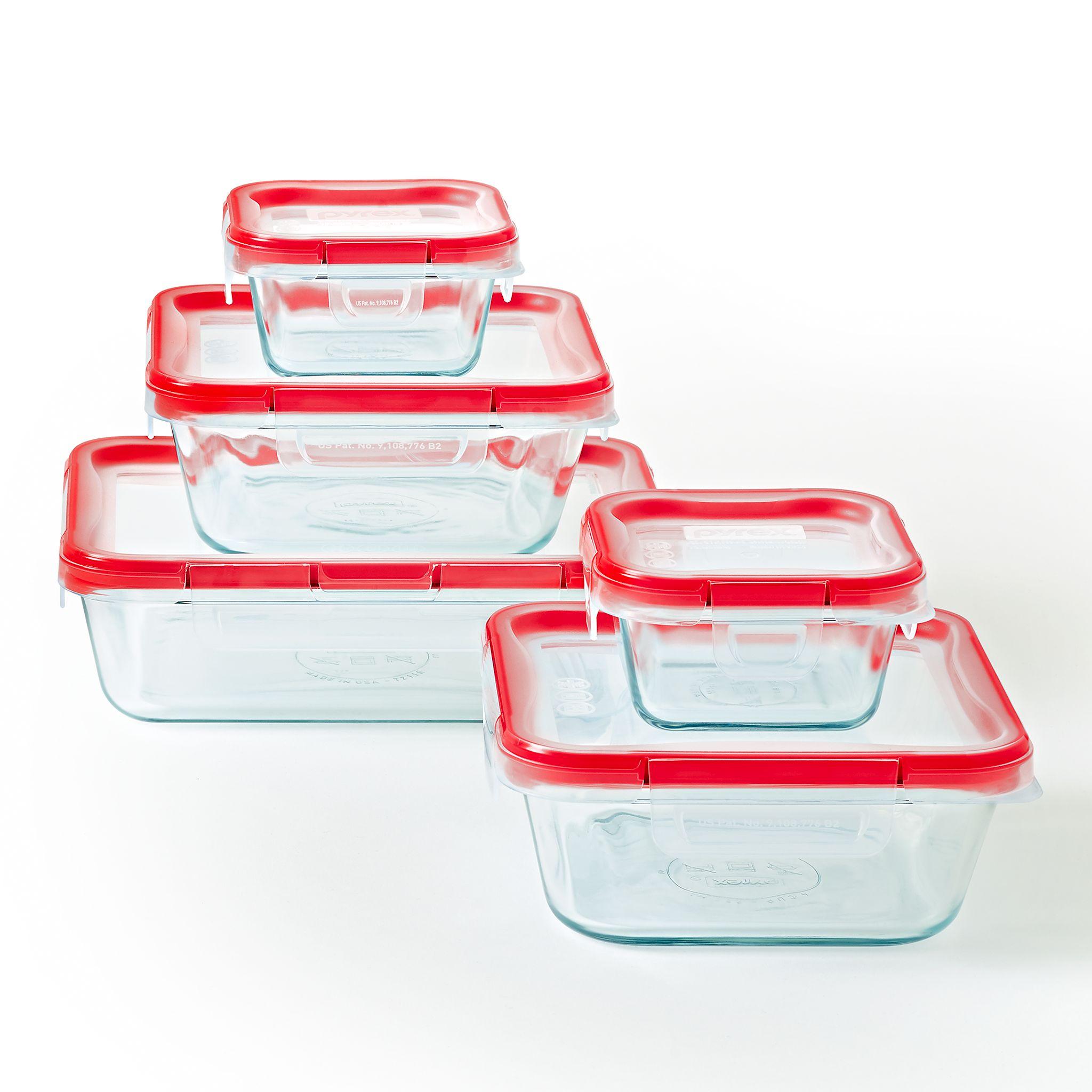 Freshlock 10-piece Glass Storage Set