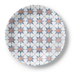 "Signature Amalfi Azul 8.5"" Lunch Plate"
