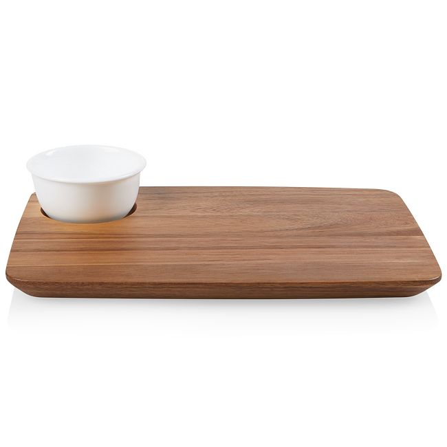 Coordinates Cheese Board with Bowl Serving Set