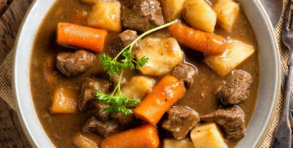 Basic Beef Stew With Instant Pot