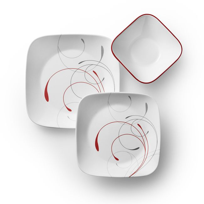 Square Splendor 18-pc Dinnerware Set