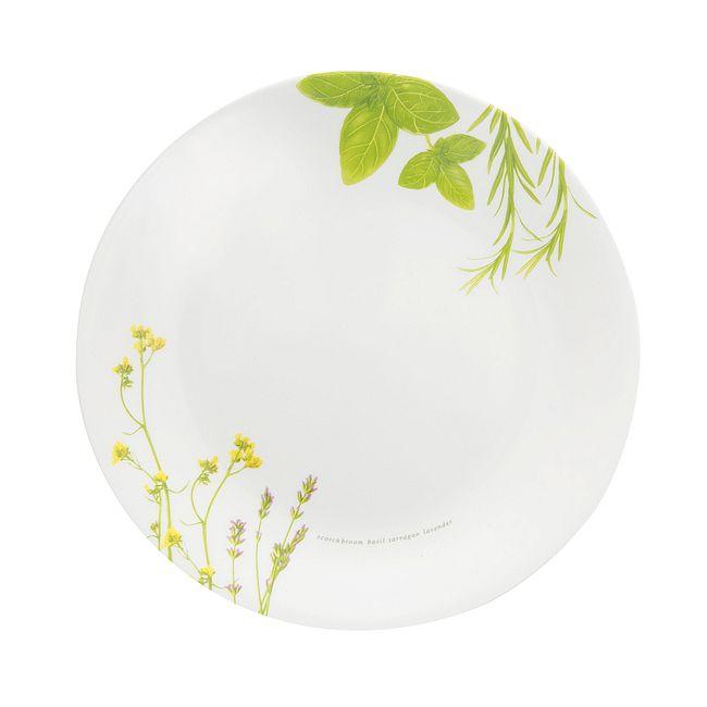 """European Herbs 8.5"""" Salad Plate"""