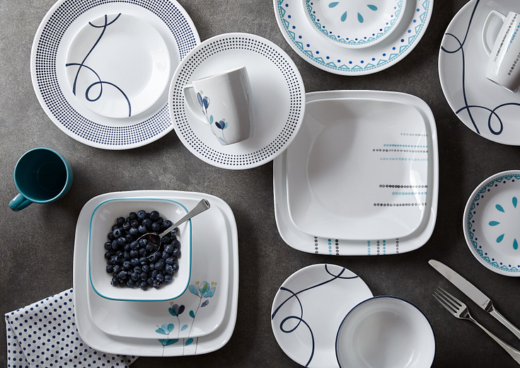 blue corelle patterns