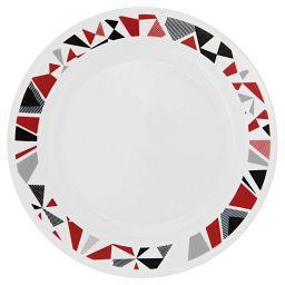 "Livingware™ Mosaic Red 8.5"" Plate"