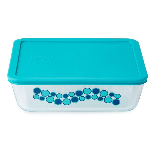 Simply Store 11 Cup Wintergreen Cirque Rectangle Storage Dish w/ Lid