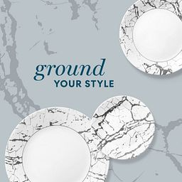Stone Grey photo with text says ground your style