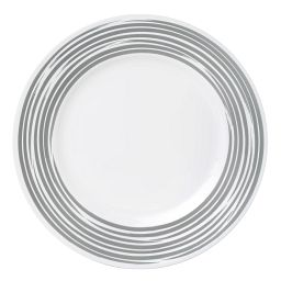 Boutique™ Brushed Silver Dinner Plate