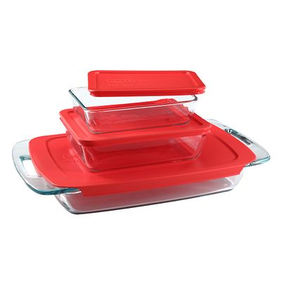 Pyrex Easy Grab Bake ?N Store 6-Pc Value Pack - 1090993