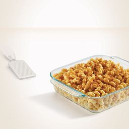 "8"" Square Baking Dish with Food Inside"
