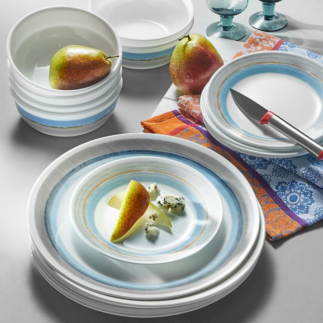 Elemental Dawn 18-piece Dinnerware Set, Service for 6