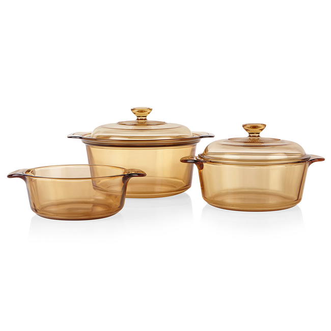5-piece Dutch Oven Cookware Set with 3.5-liter Stewpot