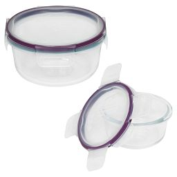 Total Solution™ Pyrex® Glass Food Storage 4-pc Round Set