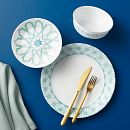 Amalfi Verde 18-piece Dinnerware Set, Service for 6