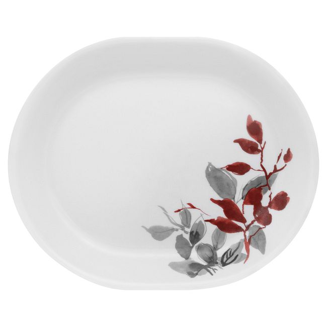 "Kyoto Leaves 12.25"" Serving Platter"