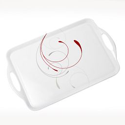 Coordinates® Splendor Melamine Serving Tray