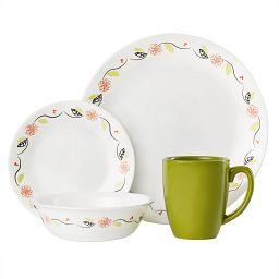 Livingware Tangerine Garden 16-pc Set