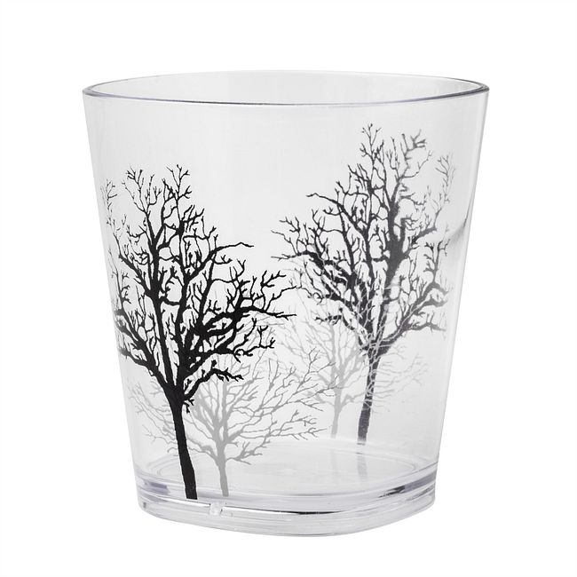 Timber Shadows 14-ounce Acrylic Drinking Glass