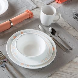 Livingware™ Apricot Grove 16-pc Dinnerware Set Lifestyle Image