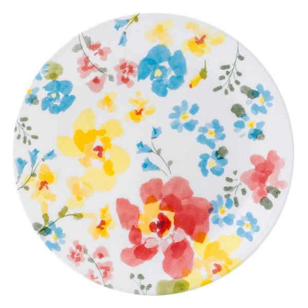Corelle_Cheerful_Garden_85_Salad_Plate