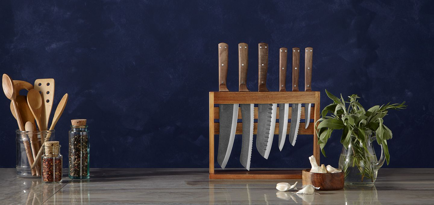 Rustica standing knife set