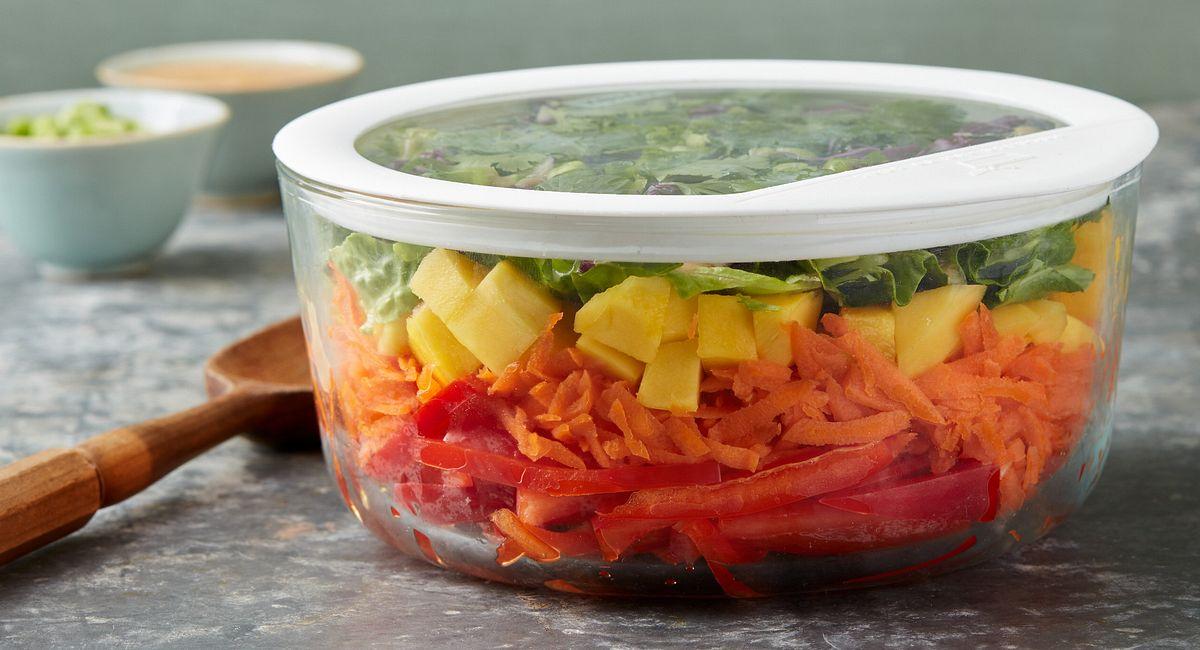 7-Layer Overnight Thai Salad