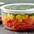 Ultimate 7 Cup Round Storage Dish with Salad Inside