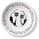 "Loving Cats Pounce 6.75"" Appetizer Plate"