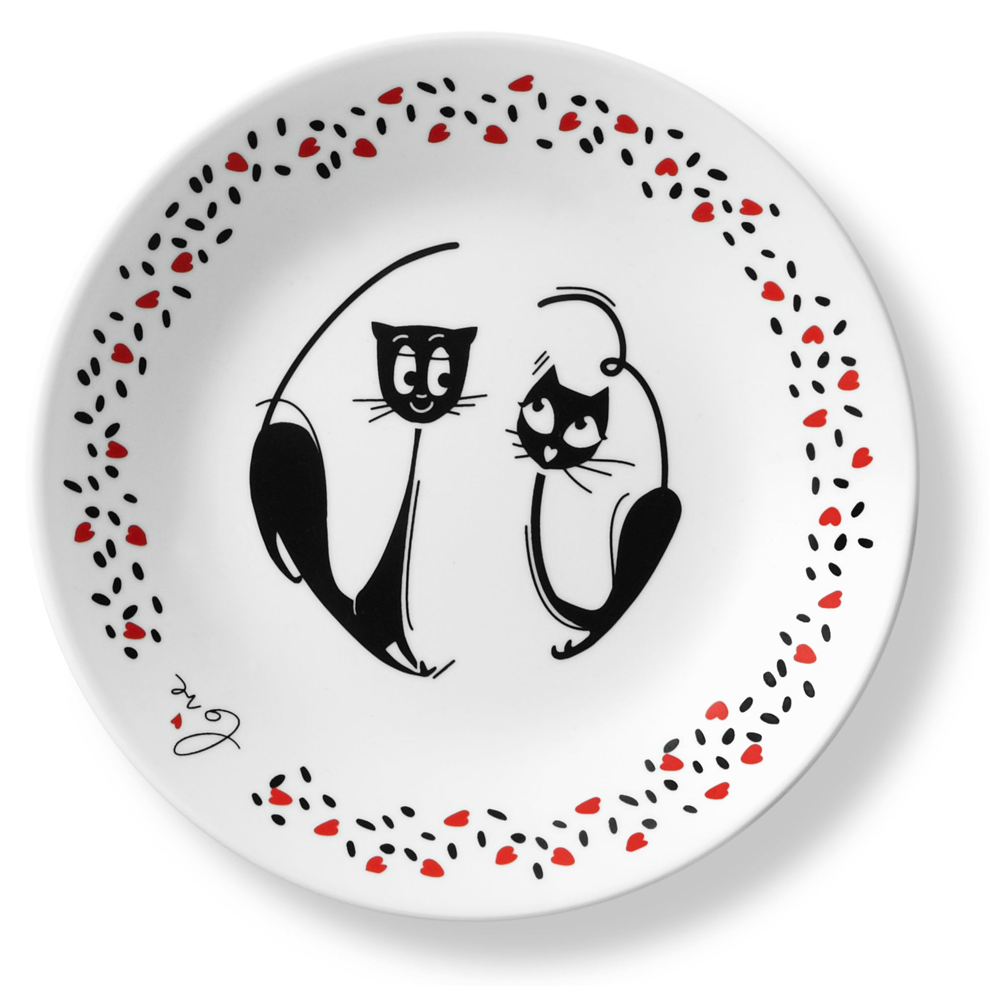 Corelle_Loving_Cats_Pounce_675_Appetizer_Plate