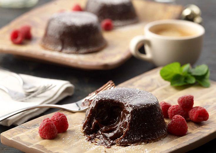 Baileys Lava Cakes