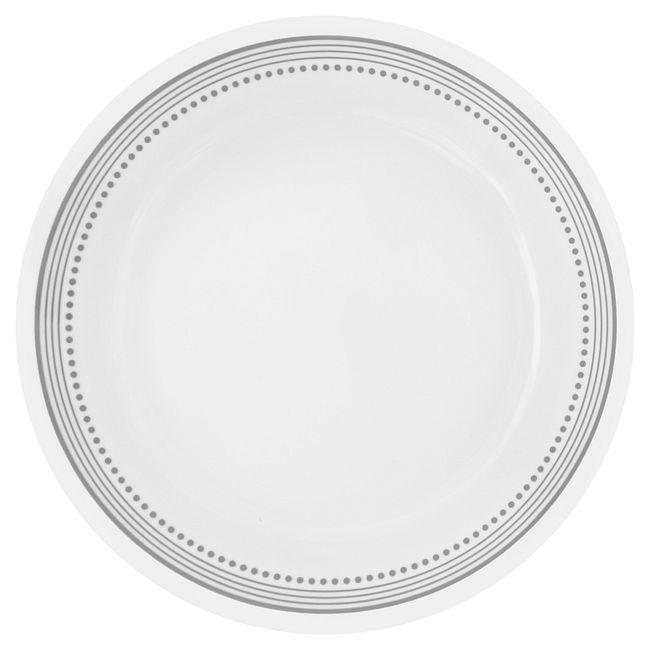 "Livingware Mystic Gray 8.5"" Plate"