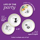 "Party Ghouls 6.75"" Appetizer Plates, 8-pack"