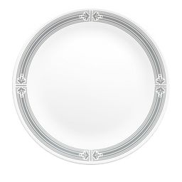 "Signature Prairie Garden Grey 10.25"" Dinner Plate"