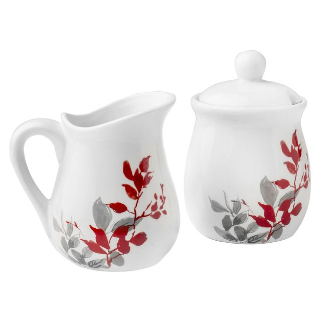 Kyoto Leaves Sugar & Creamer Set