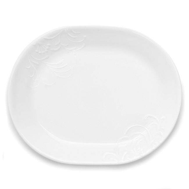 "Corelle Cherish 12.25"" Serving Platter"