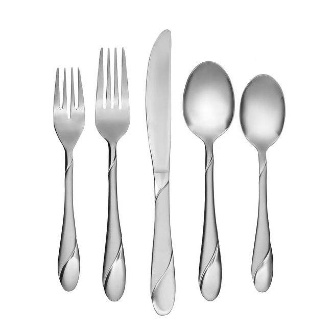 Swirl Sand 20-piece Flatware Set