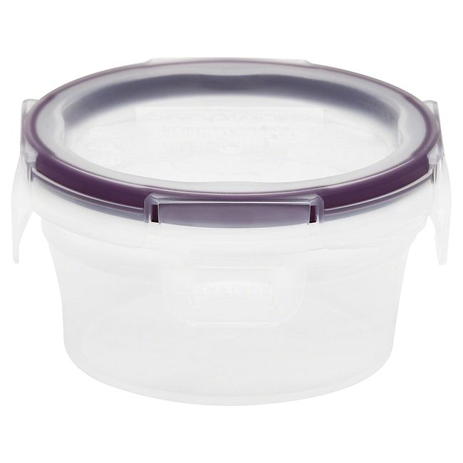1.21-cup Plastic Food Storage Container