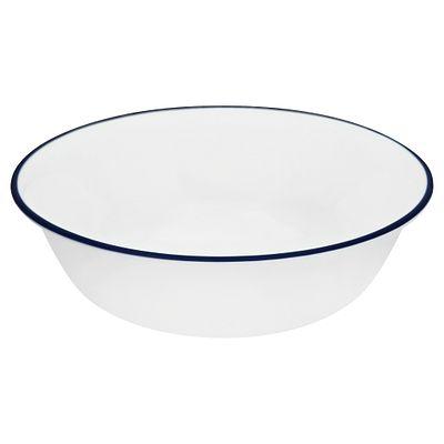 Classic Café Blue 18-ounce Cereal Bowl