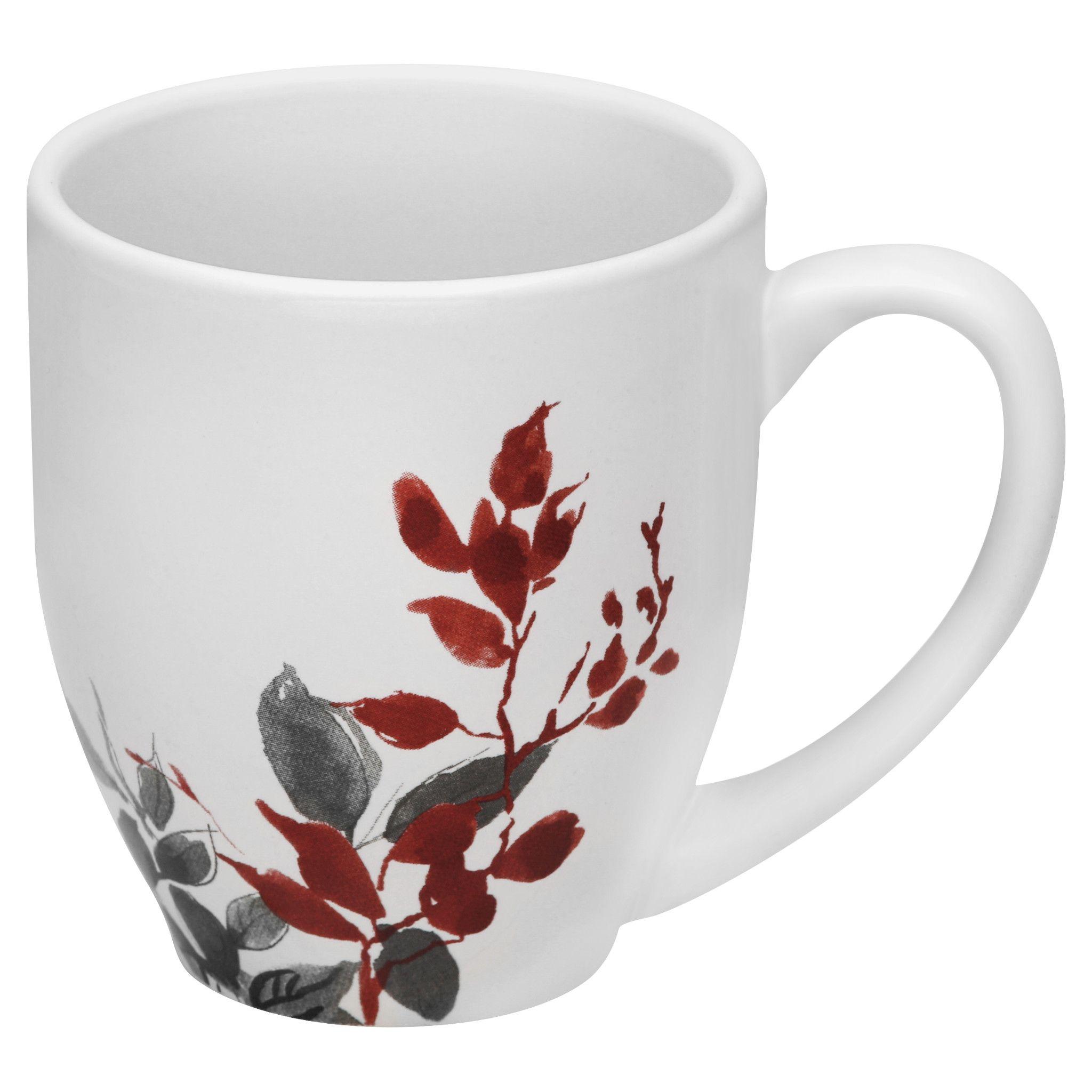 Kyoto Leaves 13-ounce Mug